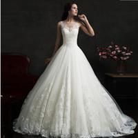 Cheap lace wedding Best ruffles wedding