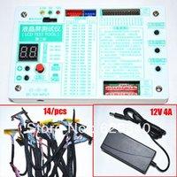 TV Laptop LCD / LED ESSAI testeur de panneau LCD Support Tool 7 -55 pouces interface LVDS 24 programme 14 / pcs ligne de l'écran + test de ligne afin de 12V4A $ 18Personne