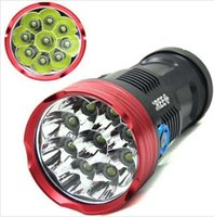 Wholesale super bright led flashlight SKYRAY x CREE XML T6 Lumen LED Flashlight strong light Torch Hunting Work Lamp