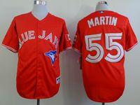 Wholesale Toronto Blue Jays Jersey Russell Martin jerseys Blue Jays Martin jersey High quality size M XXXL mixed order