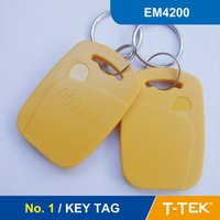 Wholesale NO RFID Key Tag for access control RFID Tag RFID Token With EM4200 Chip