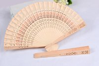 Wholesale Bridal Wedding Fans Chinese Wooden Fans Bridal Accessories Handmade Fancy Cheap Wedding Favours Small Gifts for Guests Ladies Hand Fans