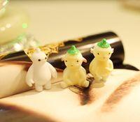 agate cross pendant - Small Huangren Gong Tsai Keychain Huppah white light emitting car key chain pendant couple bigeye Moe