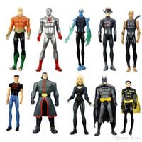 aquaman action figure - 10pcs Set DC Universe Batman Robin Aqualad Aquaman quot quot Collectible Action Figure Loose