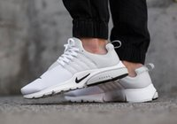 Wholesale NIKE AIR PRESTO BR QS Breathe Black White Running Shoe Nike Women Men Fashion Sports Athletic Walking Sneakers Free Run Running Shoe