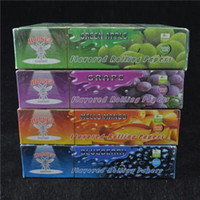 Wholesale 25pcs Packs Hornet Juicy Fruit Flavored Cigarette Rolling Paper mm Natural Smoking Paper King Size High Quality Tobacco Papers