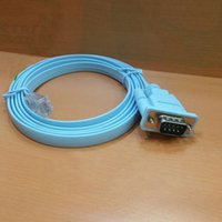 Wholesale RJ45 Male to DB9 RS232 Male Serial Port Adapter Cable M