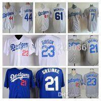 beckett new jersey - 2015 New Los Angeles Dodgers Jerseys James Loney Zack Greinke Aaron Harang Kirk Gibson Josh Beckett Baseball Jersey