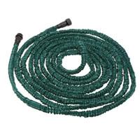 Wholesale Anself Hot Dark Green FT Expandable Ultralight Garden Hose Magic Pipe Flexible Garden Watering Hose