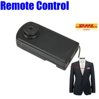 Wholesale 720P Mini Button Spy Motion Detection Button Audio Video Camera MOV Format Black Button mini Camcorders TF Card Max G HS