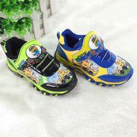 Wholesale Minion Minions Sports Shoes Fashion Athletic Footwear Child Shoes Boys Footwear Children Athletic Shoes Kids Sneakers Boys Shoes C19787
