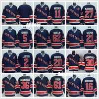 Wholesale Mens s New York Rangers Jerseys Navy Blue Alternate Premier27 Ryan McDonagh Henrik Lundqvist Mats Zuccarello Derick Brassard Jersey