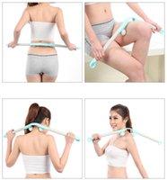 ball back massager - Neck Massager Roller For Body Neck Waist Back Handheld Slimming Massager Ball Tool New Hot Selling