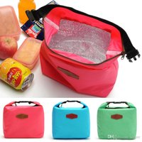 Wholesale Hot Sales Outdoor Lunch Bag Box Cool Thermal Handbag Food Drinks Ice Packs Isothermic Bags Oxford Size CM BX142