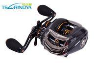 Wholesale Trulinoya Brand Baitcasting Reel TS1200 R Ball Bearings g Right Hand Bait Casting Lure Fishing Reel