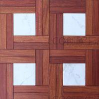 Wholesale Red sandalwood MM jade MM Wood flooring Parquet flooring Medallion wooden floor living room Art flowers