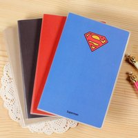 Wholesale Stationery superman Captain America Notebook Office School Supplies Notebooks Writing Pads