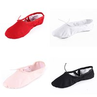 Wholesale Hot sale Black Red White Pink Ballet dance shoes teacher zapatos de baile latino mujer