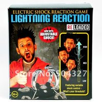 Wholesale Piece Lightning Reaction Reloaded Electric Shock shocking Game Toy