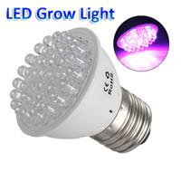 flower bulb - 220V V Led Grow Bulb E27 RED and BLUE LEDs Hydroponic green house garden flower Light LED Plant Grow Growth Light Bulb Lamp