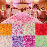 Wholesale Bestselling Artificial Rose Petals Wedding Party Decorations Confetti Silk Rose Flowers