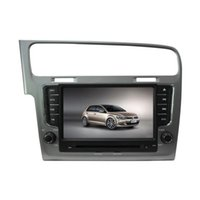 Wholesale hot selling quot TFT LCD digital panel touch screen car DVD player with Rear view for VW Golf