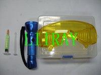 air conditioners repair - car air conditioner repair tool fluoroscopic leak test ac flashlight leak detector