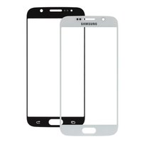 Wholesale Black White Front Screen Lens Repair Parts Outer Glass for Samsung Galaxy S6 RRP_101