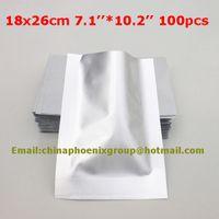 al foods - x26cm Pure Aluminum Foil Vacuum Bag Food Packaging Bag Vacuum Bag AL Foil Heat Seal Bags