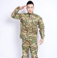 bdu coat - Fall CP color camouflage clothing BDU suit warfare training suits us army uniforms COAT PANTS