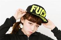 Cheap Women Men Casual Baseball Rock Cap Sport Dancer Punk Trukift Hat Cap FUCK Letter Snapback Cap Adjustable Hat T17-56