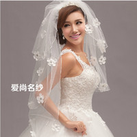 applique cutting - Wedding Veils Wedding Veil Applique Bridal Veils White Cheap Hop Sale Bridal Accessories Crystal