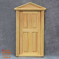 assembly line model - 1 doll house DIY mini handmade door model diy cabin mini house doors wood line dedicated European green door frame