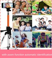 automatic identification - NEW hot selfie stick bluetooth self timer monopod with zoom function automatic identification iPhone G Sumsung Note the latest phone