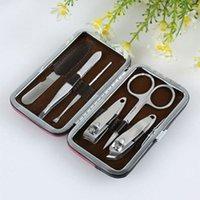 Wholesale Beauty set six sets of beauty tools nail tool sets nail scissors Liu Jiantao