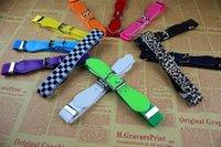 elastic belt - Baby elastic belt children belt boys and girls candy color belt elastic