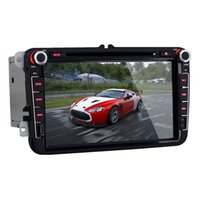 Wholesale Hot car dvd Android4 OS Inch Din In Dash Car DVD Player for Volkswagen with GPS BT RDS WIFI Dual Core