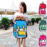 Wholesale High Quality Canvas Bag Comic Gismo D D Cartoons Bag Camera Bag Shoulder Handbag General Bags