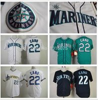 robinson - 2016 New Robinson Cano Seattle Mariners Robinson Cano Baseball Jersey home away black white green blue size Small xl