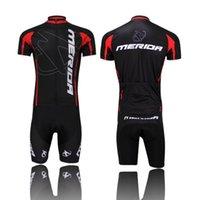 Wholesale Bicycle Bike Jersey Merida New Cycling jersey Cycling Clothes Cycling wear Cycling short sleeve jersey Bib Shorts Sets