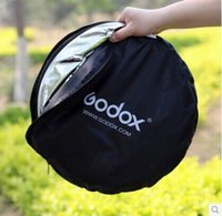 Wholesale godox cm in one reflector foldable reflector easy take with bag no fade stong zipper fix