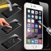 Wholesale Display Panzer Glas Folie für Apple iPhone Plus Schutzfolie Screen Protector