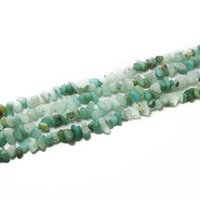 amazon jewelry making - Chips Beads Freeform Amazon gravel Bead Natural Stone Fashion Jewelry Bead Jewelry Making Diy Bracelet Strand quot BTB733