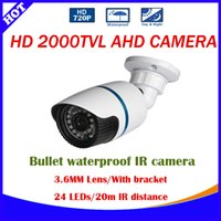 analog filter - 720P AHD camera Metal case MP TVL analog High Resolution LED Waterproof Camera With IR CUT Filter AHD CCTV Camera