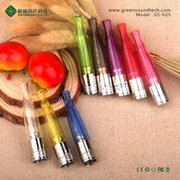 Cheap hot items 2014 Gs H2S dual heating clearomizer match big wattage VV battery h2 ego 2200