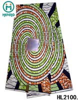 cotton fabric cloth - 2015 New Design African Real Wax Fabric Print Cotton H Wax Fabric For cloth wax HL2100