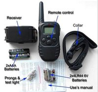 Wholesale 300M Remote Control Pet Dog Training Anti Bark Collar Suitable for Most of Dogs dandys