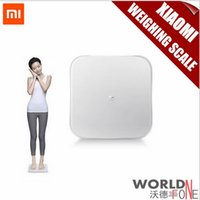 Wholesale 2015 New Original Xiaomi Mi Smart Weighing Scale Xiaomi Scale Xiaomi Weigh Scale Support Android iOS7 Abovebluetooth