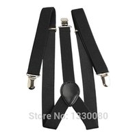 Wholesale Elastic Brace Suspender Y Back Clip on Belt for Adult and Child E5M1