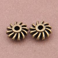 alloy category - Snowflake Turbine Beads Category Oblate Impeller Retro bronze Alloy Loose Accessories X12X12mm